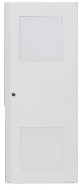 Plåtdörr med wifi-fönster till EKM